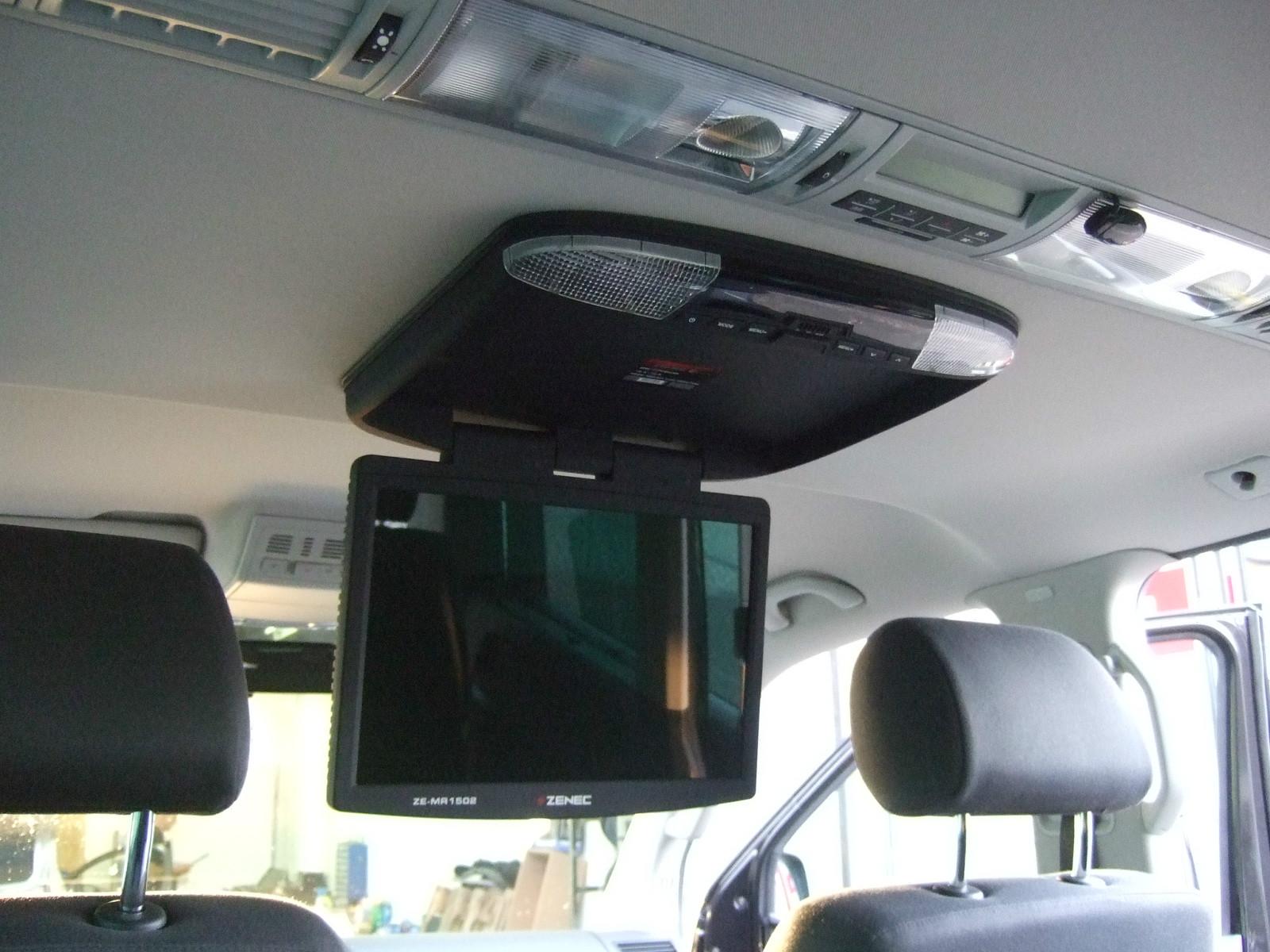 VW T5 Multivan Mit Deckenmonitor Und Kenwood Navigation