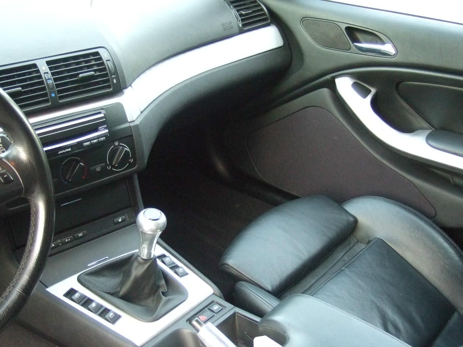 BMW 3er E46 Cabrio mit Jehnert Doorboards