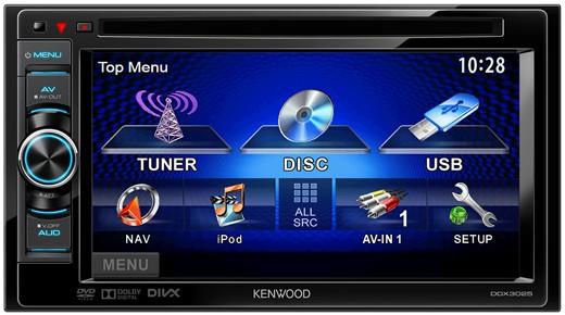kenwood ddx 3025 2 din moniceiver usb dvd ipod steuerung. Black Bedroom Furniture Sets. Home Design Ideas