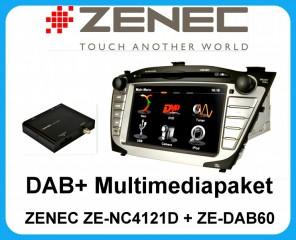 ZENEC ZE-NC4121D inkl ZE-DAB60 DAB+ Tuner