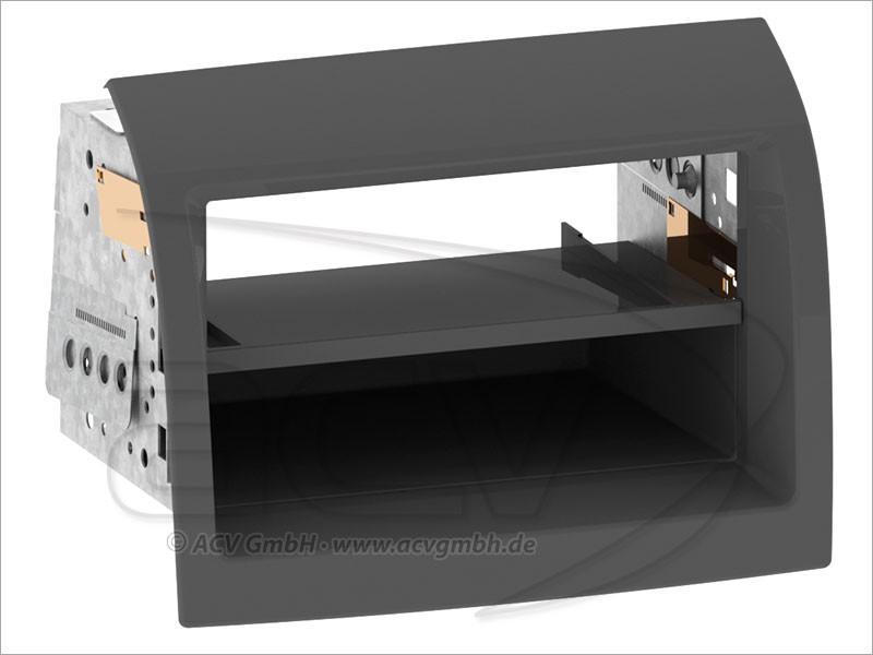 2 din radioblende fiat ducato 250 einbaurahmen. Black Bedroom Furniture Sets. Home Design Ideas