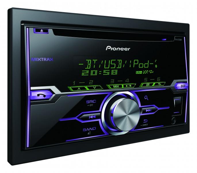 pioneer fh x720bt 2 din cd mp3 usb autoradio mit bluetooth. Black Bedroom Furniture Sets. Home Design Ideas