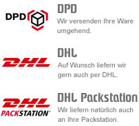 DHL, Packstation, DPD